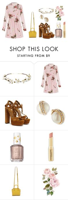 """""""Untitled #250"""" by dreamarie151 on Polyvore featuring Cult Gaia, RED Valentino, Kate Spade, Essie, Napoleon Perdis, Rebecca Minkoff, women's clothing, women, female and woman"""