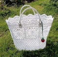 Patrón de bolsa en ganchillo   -   Crochet bag pattern