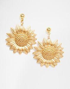 Regal Rose Sundance 70s Sunflower Earrings