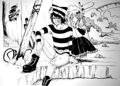 Villians from  Toranu manga. Walda and Loli.