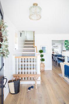 Category: Home Exterior Paint Color - Home Bunch Interior Design Ideas Front Door Paint Colors, Painted Front Doors, Dream Home Design, House Design, Brick Accent Walls, Custom Builders, Coastal Living Rooms, Coastal Homes, Classic House