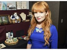 As Seen at GBK's 2015 Golden Globes Celebrity Gift Lounge, Blue Mixed Butterfly Crystal Necklace