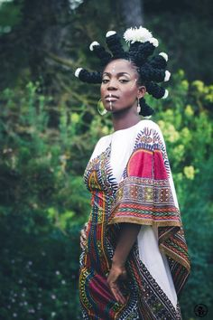 New Afro Punk Fashion Queens Ideas African Beauty, African Fashion, Black Hair Curls, Black Braids, Long Braids, Hair Afro, Afro Punk Fashion, High Fashion, Leila