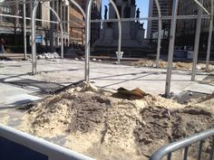This will see be the Beach @ Campus Martius Park #detroit #downtown #thebeach