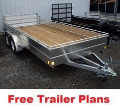 Tractor free trailer PLANS