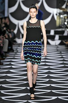 Look #30 Bohemian Wrapsody Fall 2014 #NYFW http://on.dvf.com/PINFALL2014