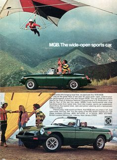 1976 MGB Advertising Road & Track April 1976 | by SenseiAlan