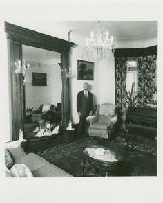 Dark trim. Dark rugs.   José Quiñones. 1486 Pacific St., Bedford-Stuyvesant, Brooklyn. November 16, 1978.