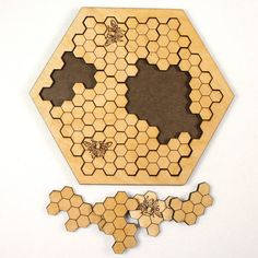 Beehive Wooden Jigsaw Puzzle by PlymouthPuzzles on Etsy
