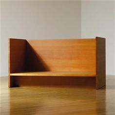 Artwork by Donald Judd, COUCH/BED