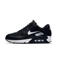 Nike Air Max 90 Women's Casual Shoe - Main Container Image 4 Nike Air Max Feminino, Sapatos Casuais Femininos, Sapatos Fofos, Sapatos Da Moda, Tênis Air Max, Tênis Feminino, Tênis Nike, Saltos, Nike Para Mulheres