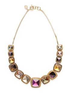 Marc by Marc Jacobs Jewelry Ice Cube Stud Necklace
