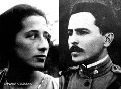 Brazil extradited this communist to Germany. Olga Benário e Luís Carlos Prestes