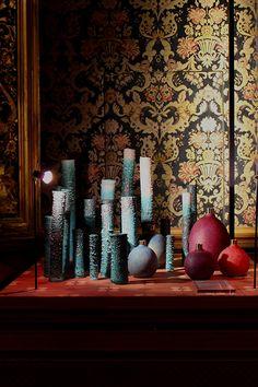 Milaan 2016 Masterly - Oxidation Aftermath ceramics + Pomme vase