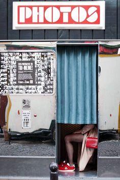 #fotoautomat #photomaton #vintage #argentique #photobooth #analog #retro #montmartre #streetstyle #paris