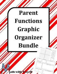 These graphic organizers have saved me so much time!  The format is a great way for students to organize everything they need to know about quadratic, polynomial, exponential, logarithmic, and rational functions.