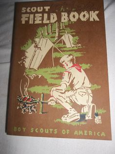 Vintage Boy Scouts Of America Scout Field Book