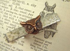 WHOOO would wear this tie bar?
