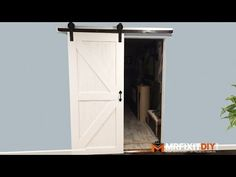 How to Make and Install Sliding Barn Doors | Wood Designs