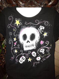 Tshirt dipinta a mano - handpainted tshirt