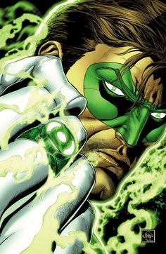 One man seeks to rekindle the green light. HAL JORDAN AND THE #GREENLANTERN CORPS: REBIRTH #1, available 7/13!