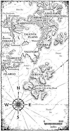 Storm Dragon Map