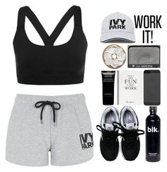 """Ivy Park"" by daizydreamer ❤ liked on Polyvore featuring Topshop, Ivy Park, New Balance, Selfridges, Givenchy and NARS Cosmetics"