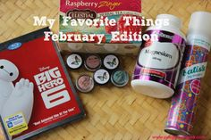 My Favorite Things February Edition - A list 6 of my favorite things from February including beauty, food & drink, health & fitness, and family products.