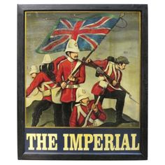 English Pub Sign - The Imperial