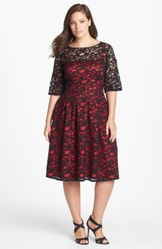2f1816f7784 44 Adorable Plus Size Dress Ideas for Valentines Day