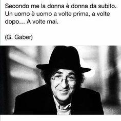 il dolce grande Giorgio Gaber