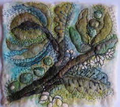 Jackie Cardy - Small textile art piece