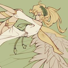 so as some of you may have heard i finally bought overwatch and it's been my new obsession i decided to draw mercy first because i know mains (and loves) her so this is dedicated to Will this is a Overwatch Support, Character Drawing, Character Design, Overwatch Fan Art, Overwatch Mercy, Drawing For Beginners, Video Game Art, Manga Drawing, Fantasy