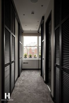 Kelly Hoppen for Regal Homes @ Circus Road… Interior Exterior, Best Interior, Interior Design, Kelly Hoppen Interiors, Door Design, House Design, Louvre Doors, Dressing Room Design, Dressing Rooms