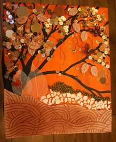 Soo's Creaxions: Ode to Autumn - Mixed Media Collage
