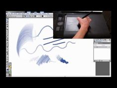 USING WACOM TABLETS WITH COREL PAINTER 12