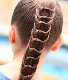 fotos de peinados bonitos y faciles para nias