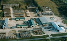 Rockland Flooring, WI Plant Aerial View