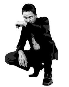 Gerard Butler by ginchan...nice!