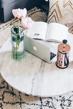Coffee Table | How To Enjoy Working At The Weekends | The Elgin Avenue Blog
