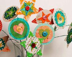 Layered Flowers Designer: Lisa Truesdell