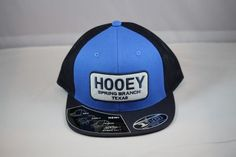 Hooey Home Town Trucker in Blue/Navy Spring Branch Texas New Release 1708T-BLNA Brand New Release