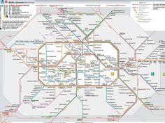 Große Spinne, kleiner Scherz, große Mühe. Alle U- und S-Bahnhöfe wurden neu…