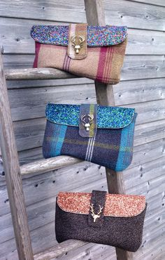 Hand made Tweed bags, purses & soft furnishings from Anny Rideout Designs…
