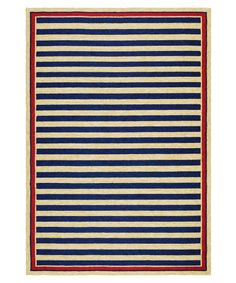 Couristan Covington Nautical Stripes Rug - Outdoor Rugs at Hayneedle