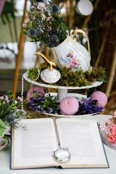 Alice in wonderland wedding ideas - Mad Hatters Tea Party Bridal Inspiration Styled Shoot | Mrs2be.ie