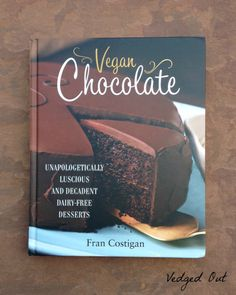 Very Fudgy Chocolate Chip Brownies. Recipe from Vegan Chocolate, the Cookbook by Fran Costigan! Review and Giveaway.