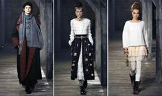 Fireside With Chanel: Pre-Fall 2013 Finds Romantic Balance In Cozy Extravagance