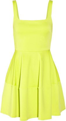 POPSUGAR Shopping: Camilla And Marc Neon stretch-scuba flared mini dress