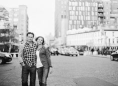 West Village Engagement in the Springtime. I love these engagement photos!